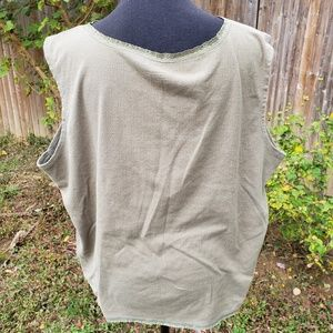 Basic Editions Tops - Green Tank Top